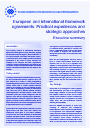 Cover image of European and international framework agreements: Practical experiences and strategic approaches - Executive summary
