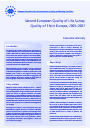 Cover image of Second European Quality of Life Survey: Quality of life in Europe, 2003–2007 – Executive summary