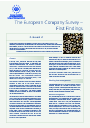 Cover image of The European Company Survey – First Findings (Résumé)