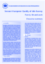 Cover image of Second European Quality of Life Survey: Family life and work - Executive summary