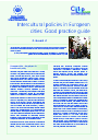 Cover image of Intercultural policies in European cities: Good practice guide (résumé)