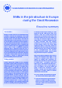 Cover image of Shifts in the job structure in Europe during the Great Recession - Executive summary