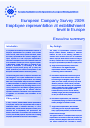 Cover image of Employee representation at establishment level in Europe - Executive summary