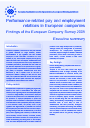 Cover image of Performance-related pay and employment relations in European companies - Executive summary