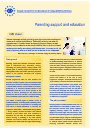 Cover image of Parenting support and education (info sheet)