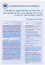 Cover image of Changes to wage-setting mechanisms in the context of the crisis and the EU's new economic governance regime - Executive summary