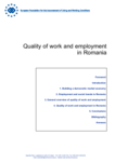 Quality of work and employment in Romania