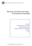 Working conditions surveys – A comparative analysis