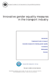 Innovative gender equality measures in the transport industry