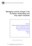 Managing cyclical change in the European shipbuilding and ship repair industries