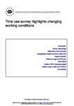 Time use survey highlights changing working conditions - Latvia
