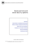 Social partners and social security systems