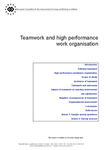 Teamwork and high performance work organisation