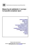 Measuring job satisfaction in surveys - Comparative analytical report