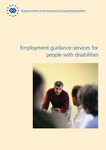 Employment guidance services for people with disabilities