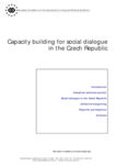Capacity building for social dialogue in the Czech Republic