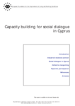 Capacity building for social dialogue in Cyprus