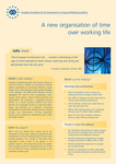 A new organisation of time over working life (info sheet)