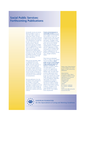 Social public services: forthcoming publications