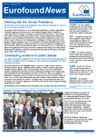 Eurofound News, Issue 7, July/August 2016