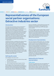 Representativeness of the European social partner organisations: Extractive industries sector - Executive summary