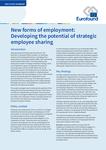 Noi forme de ocupare a forței de muncă: dezvoltarea potențialului de partajare strategică a angajaților
