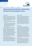 Explorarea contractării frauduloase a muncii în Uniunea Europeană