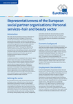 Representativeness of the European social partner organisations: Personal services–hair and beauty sector - Executive summary