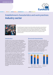 Establishment characteristics and work practices: Industry sector