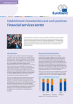 Establishment characteristics and work practices: Financial services sector