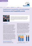 Establishment characteristics and work practices: Commerce and hospitality sector