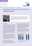 Establishment characteristics and work practices: Transport sector