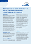 Representativeness of the European social partner organisations: Sugar manufacturing sector - Executive summary