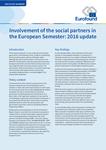 Envolvimento dos parceiros sociais no Semestre Europeu: atualização de 2016