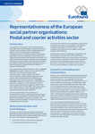 Representativeness of the European social partner organisations: Postal and courier activities sector - Executive summary