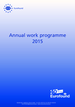 Annual work programme 2015