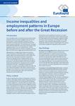 Desigualdades de rendimentos e padrões de emprego na Europa, antes e depois da Grande Recessão