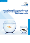 Income inequalities and employment patterns in Europe before and after the Great Recession