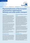 Representativeness of the European social partner organisations: Railways and urban public transport - Executive summary