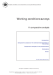 Working conditions surveys - A comparative analysis