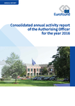 Consolidated annual activity report of the Authorising Officer for the year 2016