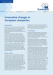Inovativní změny v evropských firmách