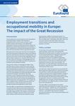 Přechody v oblasti zaměstnanosti a profesní mobilita v Evropě: dopad velké recese