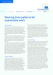 Rozvržení pracovní doby pro udržitelnou práci