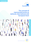 The concept of representativeness at national, international and European level