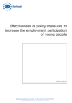 Effectiveness of policy measures to increase the employment participation of young people