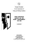 First European Survey on the work environment 1991-1992