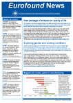 Eurofound News, Issue 10, November/December 2013