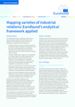 Mapping varieties of industrial relations: Eurofound's analytical framework applied - Executive summary