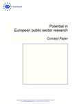 Potential in European public sector research